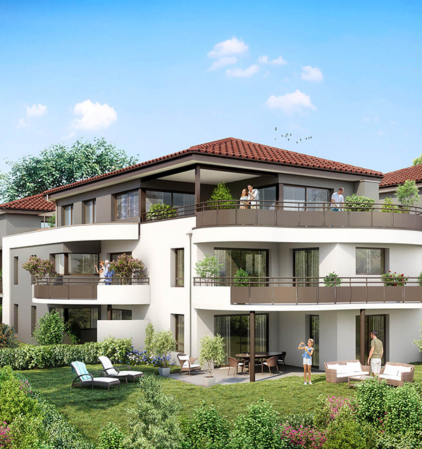 Appartements Neufs Etoile-sur-Rhône